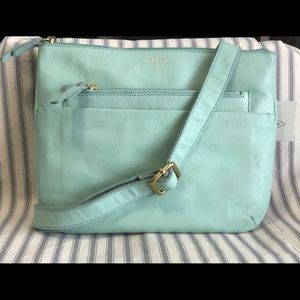 FOSSIL Tessa Crossbody Purse in Misty Jade